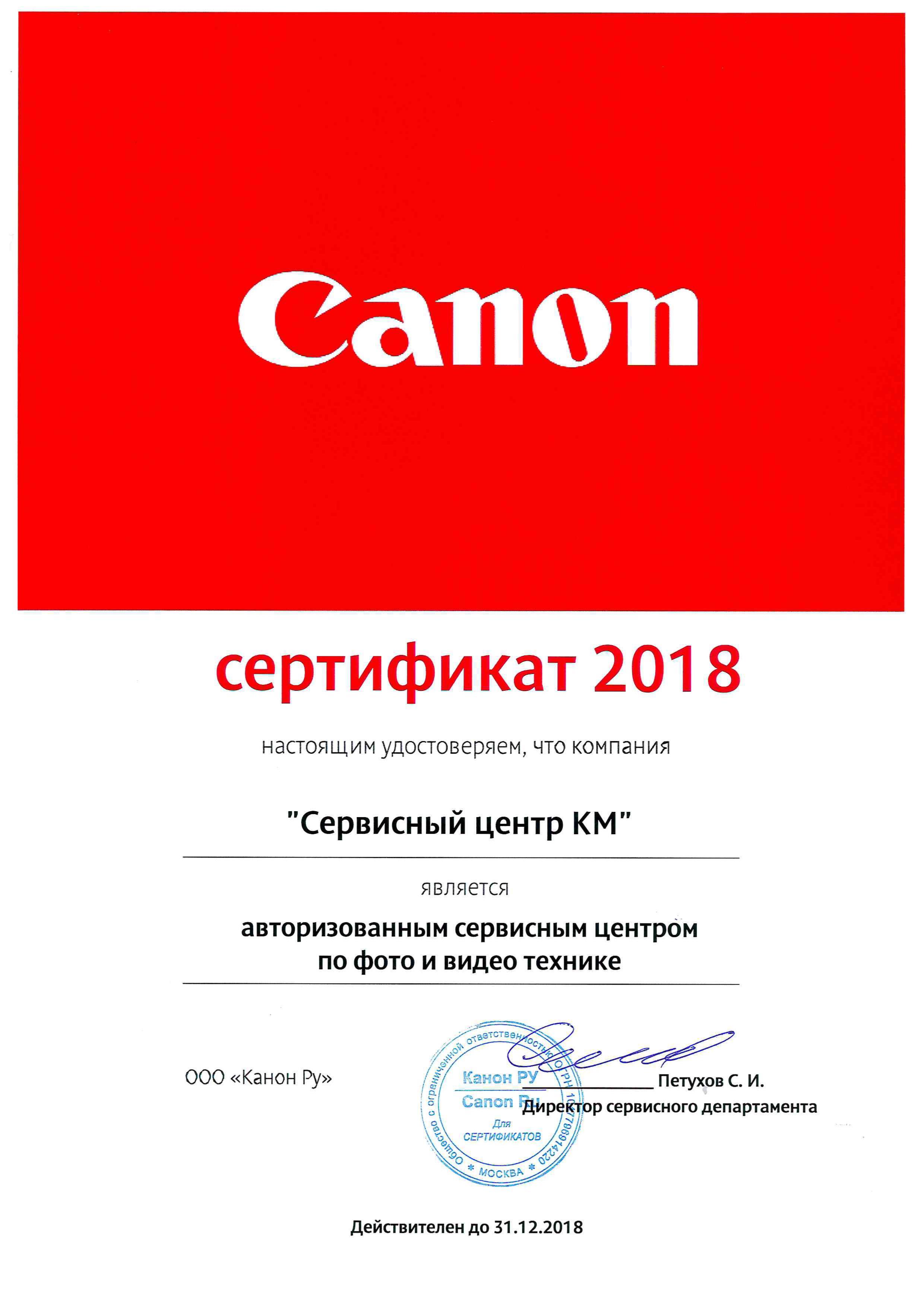 Canon фото